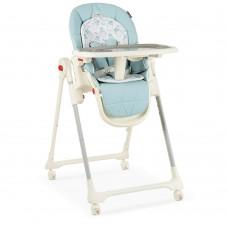 Детский стульчик для кормления El Camino ME 1037 CRYSTAL Milk Sky Blue, голубой
