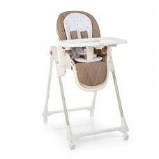 Детский стульчик для кормления El Camino ME 1037 CRYSTAL Stars Latte, бежевый