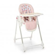 Детский стульчик для кормления El Camino ME 1037 CRYSTAL Watermelon Pink, розовый