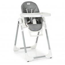 Детский стульчик для кормления El Camino ME 1038 PRIME Gray, серый