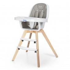 Детский стульчик для кормления El Camino ME 1050 ORGANIC Gray, серый