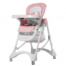 Детский стульчик для кормления Carrello CRL-9501/3 Caramel Candy Pink, розовый