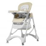 Детский стульчик для кормления Carrello CRL-9501/3 Caramel Cream Beige, бежевый