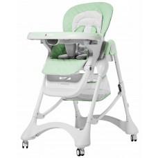 Детский стульчик для кормления Carrello CRL-9501/3 Caramel Pale Green, зеленый