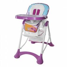 Детский стульчик для кормления Carrello CRL-10001 Chef Purple, фиолетово-белый