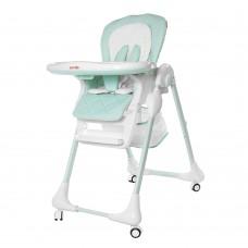 Детский стульчик для кормления Carrello CRL-9502/2 Toffee Sky Blue, бело-голубой