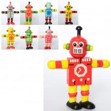 Деревянная игрушка Дергунчик MD 2325 робот