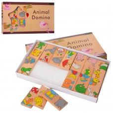 Деревянная игрушка Домино MD 2146 животные