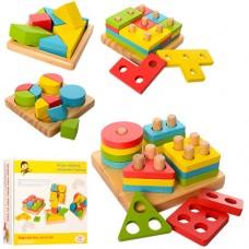 Деревянная игрушка Геометрика MD 1191 сортер