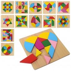 Деревянная игрушка Геометрика MD 2173 12видовке