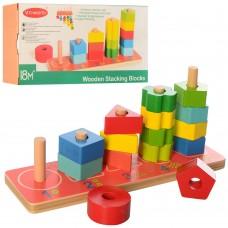 Деревянная игрушка Геометрика MD 2264