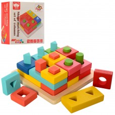 Деревянная игрушка Геометрика MD 2345