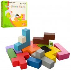 Деревянная игрушка Головоломка MD 2042 блоки