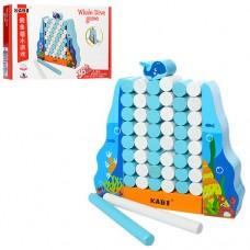 Дереянная игрушка Игра MD 1188 погружение кита, фигурка