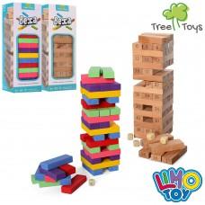 Деревянная игрушка Игра MD 1210 башня, 26см