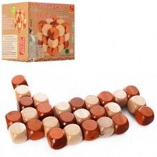 Деревянная игрушка Кубик MD 0976 головоломка, змейка