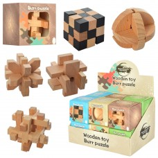 Деревянная игрушка Кубик MD 2056 5, 5см, 12шт микс видов