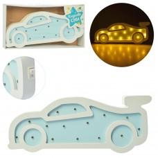 Деревянная игрушка Ночник MD 2081 машина, 30, 5см, свет