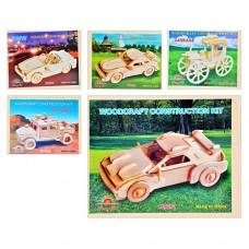 Деревянная игрушка Пазлы 3D MD 0472 конструктор, сборная модель, 23х18,5 см