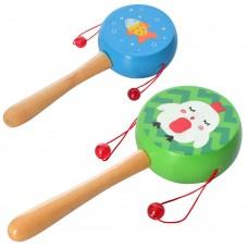 Деревянная игрушка Погремушка MD 2302 18 см