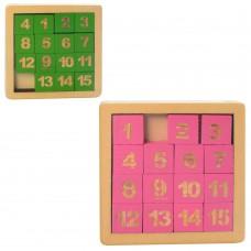 Деревянная игрушка Пятнашки MD 1512 2 цвета
