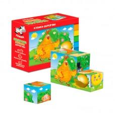 Деревянные кубики. Сказки ZB1002-01