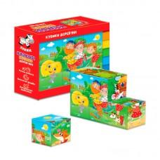Деревянные кубики. Сказки ZB1002-02