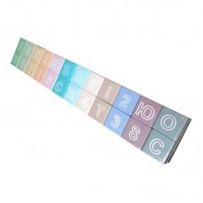 Кубики цветные с буквами ВП 022/2а Винни Пух