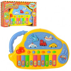 Пианино HK-988 муз, свет, на батарейках