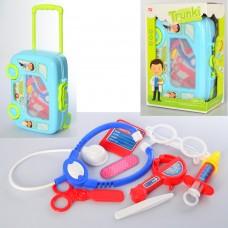 Доктор 8414D-2 мед.инструменты, очки, чемодан колеса+ручка -машина