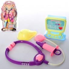 Доктор 975-17 стетоскоп, шприц, инструменты