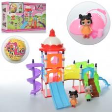Набор игровой PP-666 LOL, детская площадка, кукла8см, шар9см с куклой