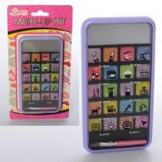 Косметика E2279 смартфон, тени, кисточка