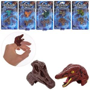 Кольцо 8910-C2 2шт, динозавр, 6видов, в слюде