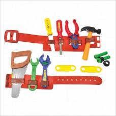 Набор инструментов 899 B пояс, молоток, пила, отвертка, ключи и др.