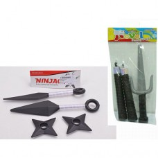 Набор с оружием 1W-3W ниндзя, 2 видаке
