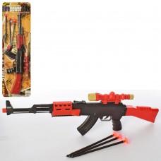Автомат 8550-67A 46см, пули-присоски 3шт