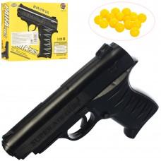 Пистолет 0621 на пульках, 15см