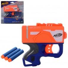 Пистолет 11213 12см, пули-присоски3шт