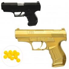 Пистолет HC-777 14см, на пульках, 2цветаке
