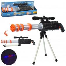 Ружье HSY-008 62см, на треноге, свет, звук