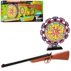 Тир 299993 R2168-1 ружье, муз, свет, мишень