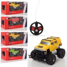 Джип 7M-943AG-C на радиоуправлении, 1:20, 17см, резин.колеса, USBзарядн, 2в, микс цв, бат