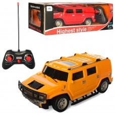 Джип HS3130 на радиоуправлении, 1:16, 22, 5см, резин. колеса, свет, 2цв, на батарейках