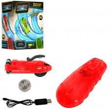 Машина 022-8 на радиоуправлении, аккумулятор 8см, для трубчатых треков, свет, USBзаряд