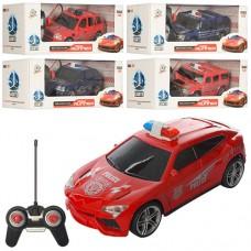 Машина 3700-31G-32G-33G на радиоуправлении, полиция, 1:24, 18см, свет, 2вида 2цв, на батарейках
