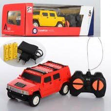 Машина 7M-324 на радиоуправлении, аккумулятор 1:32, 14, 5-6, 5-5см, рез.колеса, 2цвета