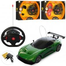 Машина 920-11-12-17 на радиоуправлении, аккумулятор 1:24, 19, 5см, рез.колеса, свет, 3вида
