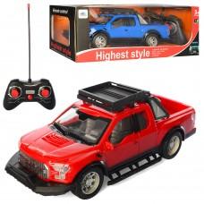 Машина HS3131B на радиоуправлении, 1:16, 24см, резин. колеса, свет, 2цв, на батарейках
