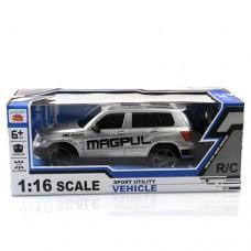 Машина W238 на радиоуправлении, аккумулятор 25см, 1:16, свет, рез.колеса, 3цвета